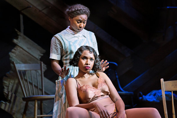 Jennifer Hudson prepares for The Color Purple